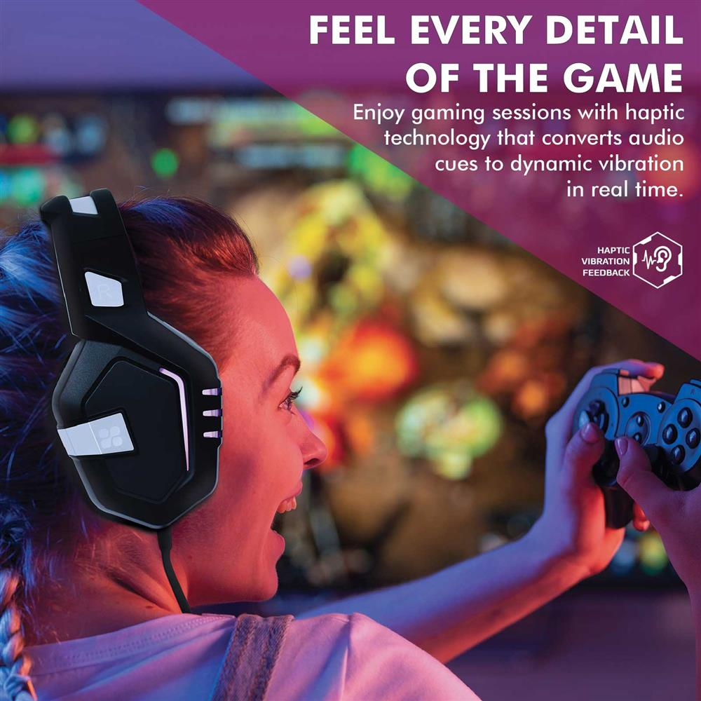 PROMATE High Performance Gaming Headset with Microphone  Zero