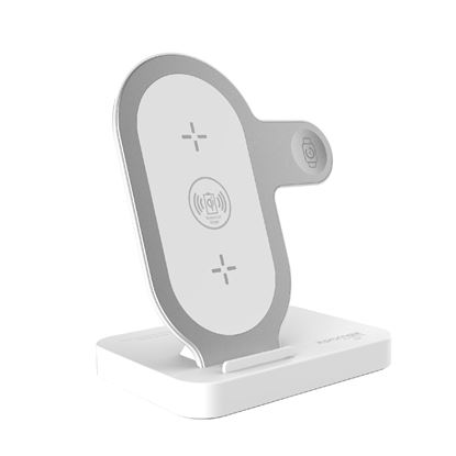 Picture of PROMATE Charging Stand for Apple 2-in-1 Wireless Charging Pad