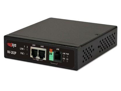 Picture of NETSYS VDSL2 PoE LAN Extender. 100Mbps symmetric PoE LAN bridge