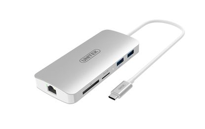 Picture of UNITEK USB3.0 Type-C Aluminium Multi-Port Hub with Power Delivery