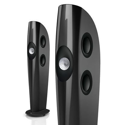 Picture of KEF Blade II Single Apparent Source Loudspeaker. Three-way bass
