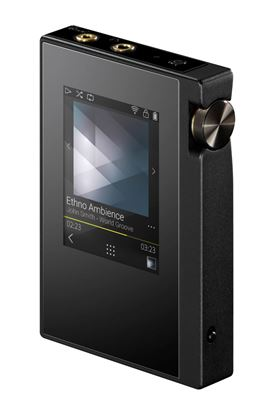Picture of ONKYO Digital Audio MQA Player. Audiophile performance in a compact