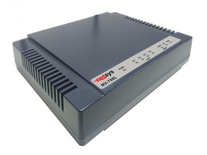 Picture of NETSYS Managed Single Master/Slave LAN Extender. Transmission at