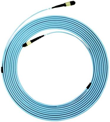 Picture of DYNAMIX 15M OM3 MPO ELITE Trunk Multimode Fibre Cable. POLARITY C