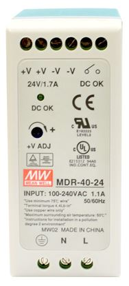 Picture of CTC UNION 40W Industrial Power Supply. -20°C~70°C. Input 85V~