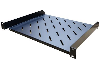 "Picture of DYNAMIX 1RU 19"" Cantilever Shelf. 381mm Deep, Weight Rating: 18kg."