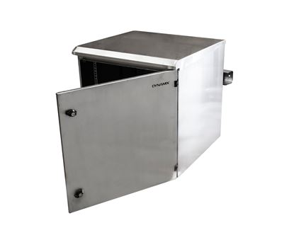 Picture of DYNAMIX 18RU Stainless Outdoor Wall Mount Cabinet (610 x 625