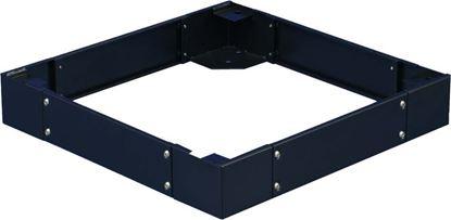 Picture of DYNAMIX SR Series Cabinet Plinth. 100mm high. Suites 800 x 1200mm