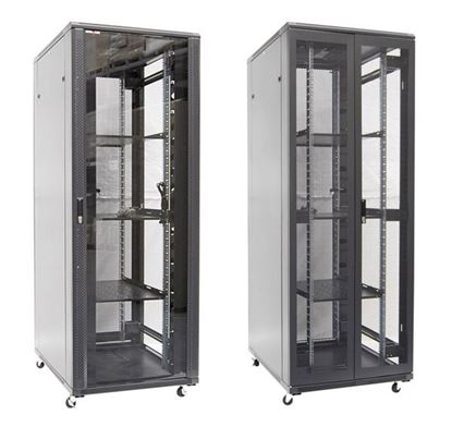 Picture of DYNAMIX 42RU Server Cabinet 1000mm Deep (800 x 1000 x 2055mm). Incl. 3