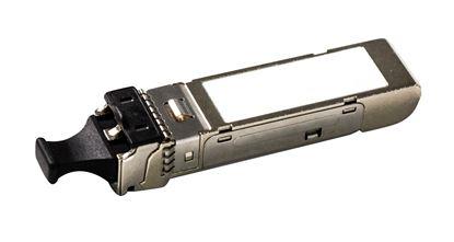 Picture of CARELINK 1.25G LC Duplex Multimode Industrial SFP Module.