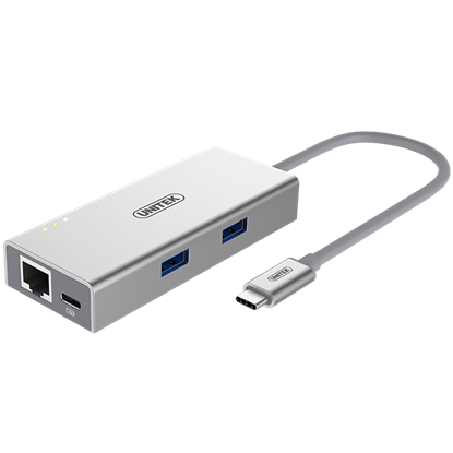 Picture of UNITEK USB3.0 USB-C Aluminium Multiport Hub with Power Delivery