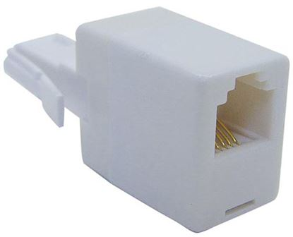 Picture of DYNAMIX Adapter - BT Male to RJ11 Socket