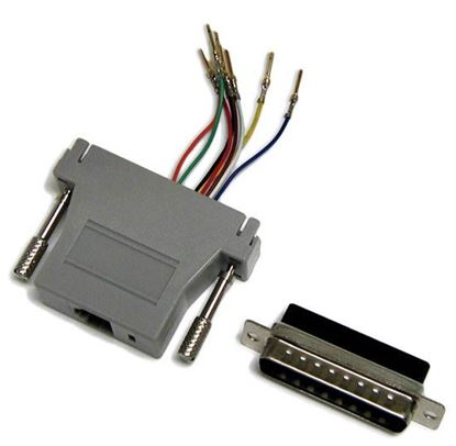 Picture of DYNAMIX DB25 Male to RJ45 Adaptor (8 Wire)