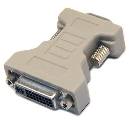 Picture of DYNAMIX DVI-I 24+5 Female to HD15 VGA Male Adapter