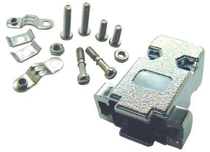 Picture of DYNAMIX DB9 Hoods - Metallised