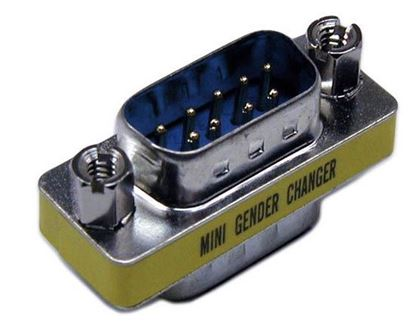 Picture of DYNAMIX DB9 Male/Male Mini Gender Changer