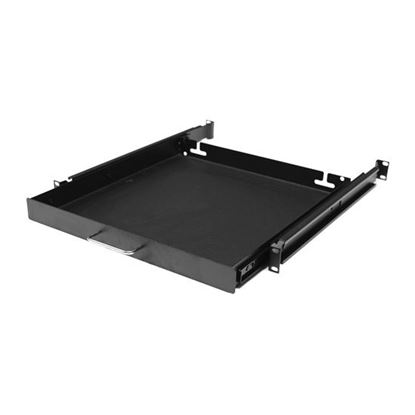 Picture of DYNAMIX AV Rack 1RU sliding drawer with #10-32 screws. 450mm Deep