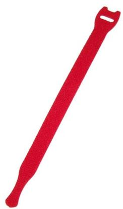 Picture of DYNAMIX Hook & Loop Cable Tie, 200mm x 13mm, RED Colour