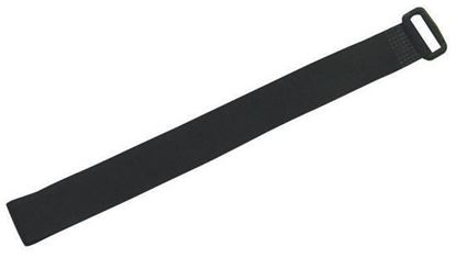 Picture of DYNAMIX Hook & Loop Cable Tie, 300mm x 20mm, BLACK Colour