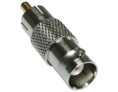 Picture of DYNAMIX BNC Female to RCA Male Adapter.