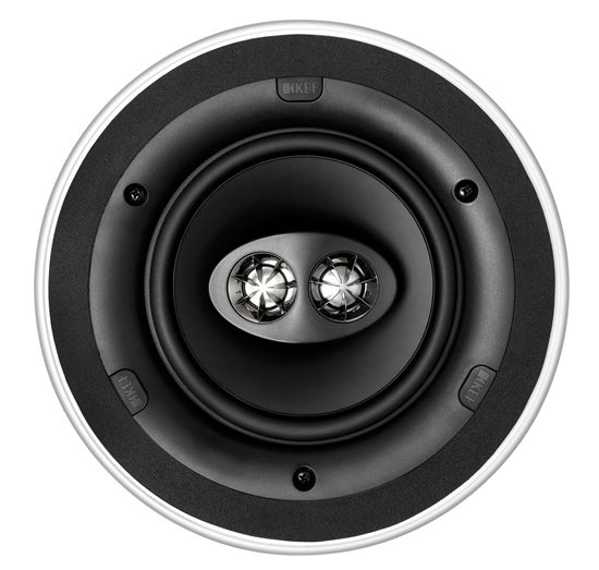 "Picture of KEF Ultra Thin Bezel 6.5"" Dual Stereo Round In-Ceiling Speaker."