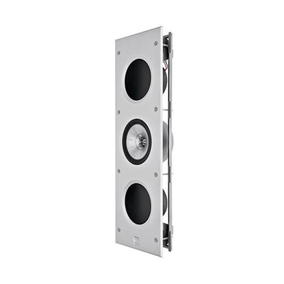 "Picture of KEF THX Rectangle In-Wall Speaker with 2x 6.5"" (LF), 1x 6.5"" (MF), 1x"