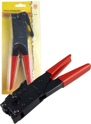 "Picture of HANLONG 9"" Conic Crimping Tool for F-type connectors"
