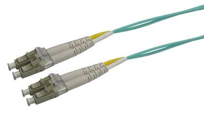 Picture of DYNAMIX 15M 50u LC/LC OM3 Fibre Lead (Duplex, Multimode)