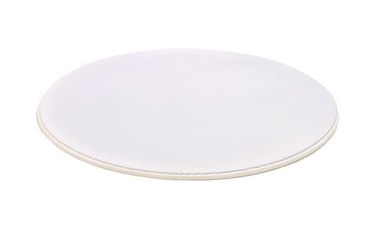 Picture of LUMI AUDIO 6.5' Frameless Round Grill for the FLC-6I  Angled
