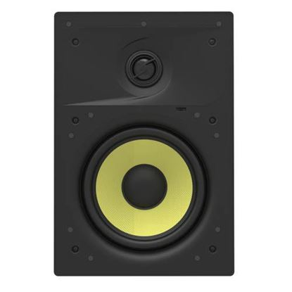 "Picture of LUMI AUDIO 6.5"" 2-Way In-wall Frameless Speaker. Frequency"