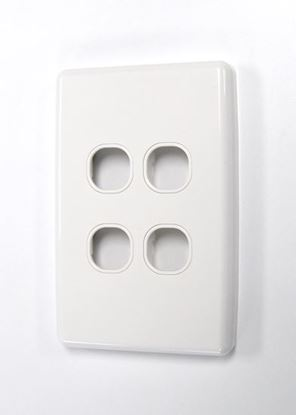 Picture of AMDEX Four Port Face Plate