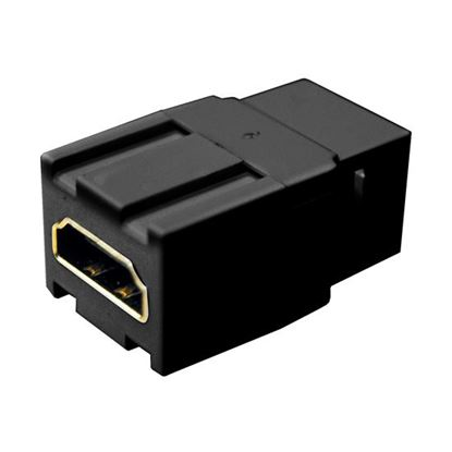 Picture of DYNAMIX HDMI Keystone Jack. Rated HDMI High-Speed with