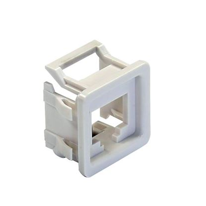 Picture of DYNAMIX RJ45 Keystone to PDL600 Series Compatible Modular Clip.