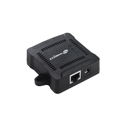 Picture of EDIMAX Gigabit PoE+ Splitter. Adjustable output power 5V, 9V, 12V