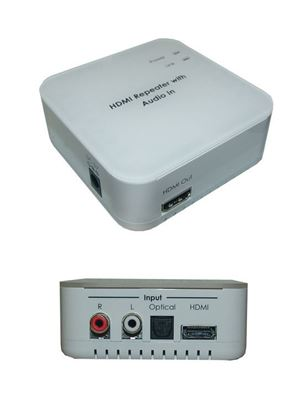Picture of CYP HDMI Audio Inserter. Insert an external audio signal