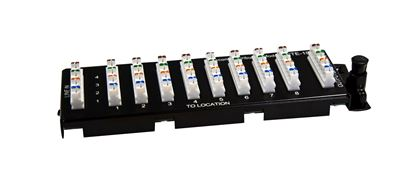 Picture of DYNAMIX 8 Port 110 Punch Down Telco Distribution Module for HWS