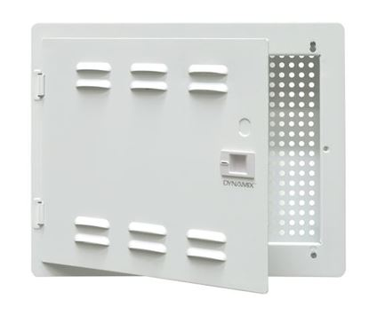 "Picture of DYNAMIX 14"" Network Enclosure Recessed Wall Mount, Vented Lid,"