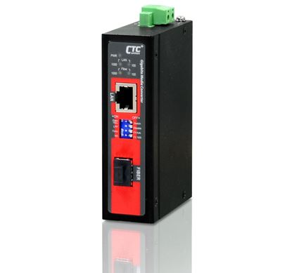 Picture of CTC UNION Unmanaged Media Converter . 10/100/1000Base-T(X) to 100/1000