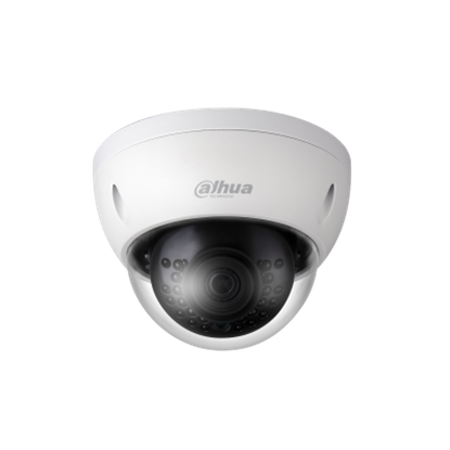 Picture of DAHUA 4MP IR Mini Dome IP Camera H.265/H.264 triple-stream encoding
