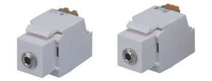 Picture of DYNAMIX Keystone Stereo Socket for HWS range