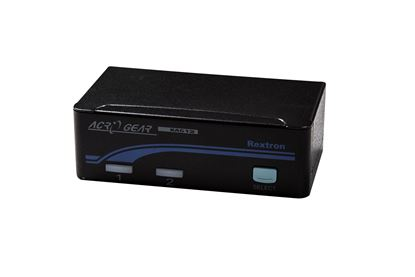 Picture of REXTRON 1-2 USB Automatic KVM Switch. Share 1x Keyboard/Video