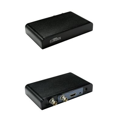 Picture of LENKENG SDI to HDMI converter. Converts SD-SDI, HD-SDI and 3G-SDI