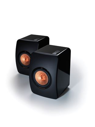 Picture of KEF Innovative Professional Studio Monitor Speakers. Uni-Q driver