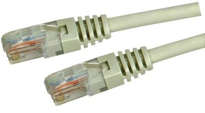 Picture of DYNAMIX 0.3m Cat5e Beige UTP Patch Lead (T568A Specification) 100MHz