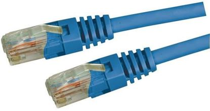 Picture of DYNAMIX 0.5M Cat5E Blue UTP Patch Lead (T568A Specification) 100MHz