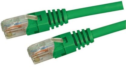 Picture of DYNAMIX 0.5m Cat5e Green UTP Patch Lead (T568A Specification) 100MHz