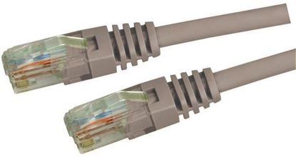 Picture of DYNAMIX 0.5m Cat5e Grey UTP Patch Lead (T568A Specification) 100MHz
