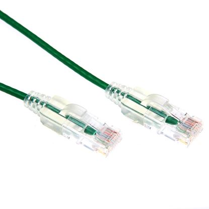 Picture of DYNAMIX 0.5m Cat6 Green Slimline Component Level UTP Patch Lead
