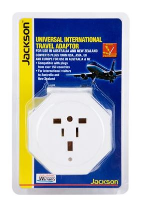Picture of JACKSON Inbound Travel Adaptor with Surge Protection. Converts US/