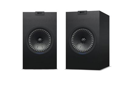 Picture of KEF Bookshelf Speaker. CFD-designed Port. 2-Way bass reflex. Uni-Q